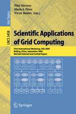 Scientific Applications of Grid Computing: First International Workshop, SAG 2004, Beijing, China, September, Revised Selected and Invited Papers