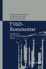 TVöD-Kommentar: Arbeitsrecht für den öffentlichen Dienst
