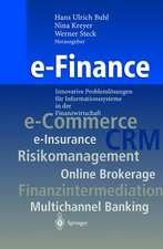 e-Finance: Innovative Problemlösungen für Informationssysteme in der Finanzwirtschaft