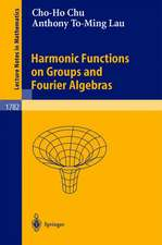 Harmonic Functions on Groups and Fourier Algebras
