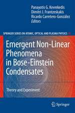 Emergent Nonlinear Phenomena in Bose-Einstein Condensates: Theory and Experiment