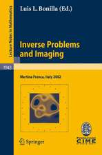Inverse Problems and Imaging: Lectures given at the C.I.M.E. Summer School held in Martina Franca, Italy, September 15-21, 2002