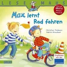 Max lernt Rad fahren: LESEMAUS ab 3 Jahren/ De la 3 ani (3-6 ani)