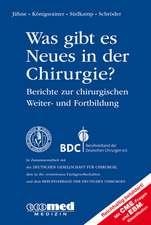 Was gibt es Neues in der Chirurgie? Jahresbände 2012, 2013, 2014