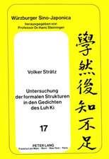 Untersuchung Der Formalen Strukturen in Den Gedichten Des Luh KI
