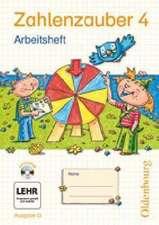 Zahlenzauber 4 Ausgabe G. Arbeitsheft mit CD-ROM