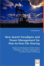 New Search Paradigms and Power Management for Peer-to-Peer File Sharing