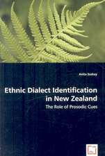 Ethnic Dialect Identification in New Zealand: The Role of Prosodic Cues