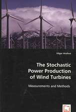 The Stochastic Power Production of Wind Turbines: Measurements and Methods