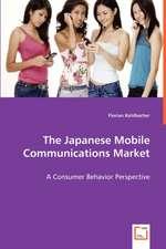 The Japanese Mobile Communications Market