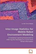 Inter-Image Statistics for Mobile Robot EnvironmentModeling