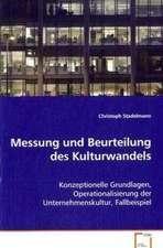 Messung und Beurteilung des Kulturwandels
