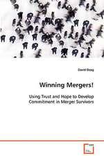 Winning Mergers!