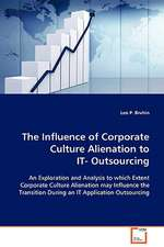The Influence of Corporate Culture Alienation to IT-Outsourcing
