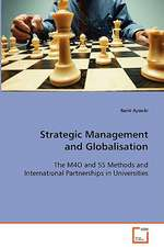 Strategic Management and Globalisation