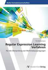 Regular Expression Learning Verfahren