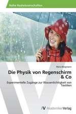 Die Physik von Regenschirm & Co