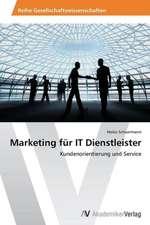 Marketing für IT Dienstleister