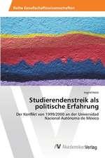Studierendenstreik als politische Erfahrung