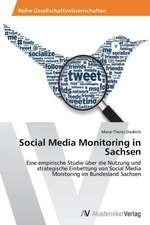 Social Media Monitoring in Sachsen