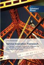 Service Innovation Framework