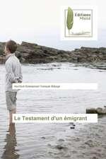 Le Testament D'Un Emigrant:  Antropologicheskiy Povorot