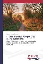El Pensamiento Religioso de Maria Zambrano:  Eciap
