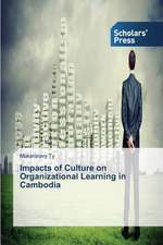 Impacts of Culture on Organizational Learning in Cambodia