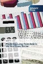 Predicting Long-Term Debt in the Healthcare Sector