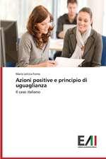 Azioni Positive E Principio Di Uguaglianza