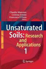 Unsaturated Soils: Research and Applications: Volume 1