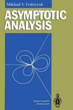 Asymptotic Analysis: Linear Ordinary Differential Equations