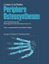 Periphere Osteosynthesen: unter Verwendung des Kleinfragment-Instrumentariums der AO