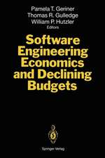 Software Engineering Economics and Declining Budgets