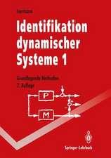 Identifikation dynamischer Systeme 1: Grundlegende Methoden