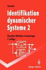 Identifikation dynamischer Systeme 2: Besondere Methoden, Anwendungen