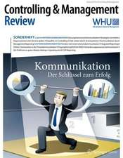 Controlling & Management Review Sonderheft 2-2014: Kommunikation