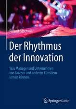 Der Rhythmus der Innovation: Was Manager und Unternehmen von Jazzern und anderen Künstlern lernen können