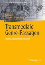 Transmediale Genre-Passagen: Interdisziplinäre Perspektiven