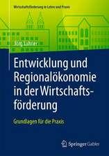 Entwicklung und Regionalökonomie in der Wirtschaftsförderung: Grundlagen für die Praxis