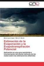Estimacion de La Evaporacion y La Evapotranspiracion Potencial:  1920-1951