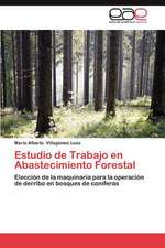 Estudio de Trabajo En Abastecimiento Forestal:  A Caixa Magica Da Criacao
