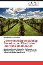 Determinacion de Metales Pesados Con Electrodos Impresos Modificados:  Sistematizacion de Un Proceso Para Su Construccion