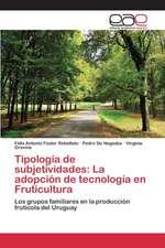 Tipologia de Subjetividades