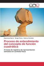 Proceso de Entendimiento del Concepto de Funcion Cuadratica