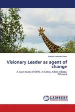 Visionary Leader as agent of change