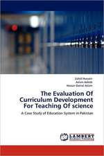 The Evaluation Of Curriculum Development For Teaching Of science