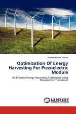Optimization Of Energy Harvesting For Piezoelectric Module