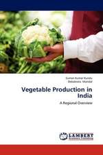 Vegetable Production in India