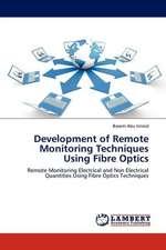 Development of Remote Monitoring Techniques Using Fibre Optics
